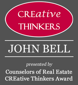 CREative Thinkers Award - John Bell